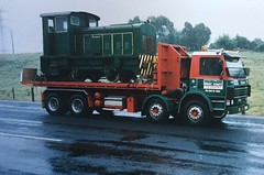 The Ruston on delivery to Burnie in 1997.