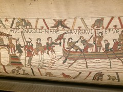 Bayeux Tapestry: 4 (DrBob317) Tags: france normandy bayeux bayeuxtapestry