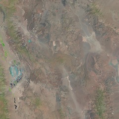 Death Valley in the Summer (sjrankin) Tags: 10august2018 edited esa europeanspaceagency sentinel2 california northerncalifornia mojavedesert deathvalley owensvalley panamintvalley owenslake mountains valleys greatbasin l1ct11smaa01632620180807t183833