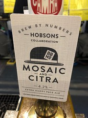 Hobsons Collaboration Mosaic and Citra at GBBF Olympia, London - August 2018 (Pub Car Park Ninja) Tags: gbbf london olympia 2018 august greatbritishbeerfestival camra uk england beer beers ales ale bier biers bitter lager budvar trumans mosaic