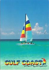 Gulf Coast, Florida, USA (chrisstonycreek) Tags: postcard gulf coast sailboat florida usa
