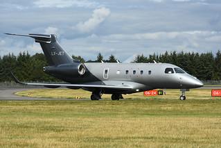 LX-JET Embraer Legacy 450 EGPH 11-08-18