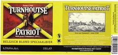 Belgium - Hobbybrouwerij Het Nest (Turnhout) (cigpack.at) Tags: hobbybrouwerij hetnest turnhout belgium belgien turnhoutse patriot 2012 bier beer brauerei brewery label etikett bierflasche bieretikett flaschenetikett