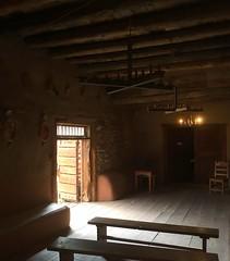 El Rancho de las Golondrinas (mademoisellelapiquante) Tags: newmexico southwest desertsouthwest desert elranchodelasgolondrinas rancho architecture chapel church interior