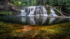 Summer Falls (TomGrubbe) Tags: waterfall lewisfalls lowerlewisfalls lewisriver summer washington washingtonstate river