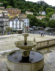 Sintra Town Square (Tony Tomlin) Tags: portugal sintra moors unesco