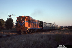 3646 A1506 Australind Mundijong North 25 April 1983 (RailWA) Tags: railwa philmelling westrail 1983