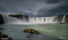 Goðafoss Waterfall of the Gods (Doreen Bequary) Tags: goðafoss waterfall le longexposure leefilters littlestopper rock d850 nikon1424mmf28 cloudy iceland