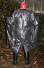 b (Gummirubber2012) Tags: r rubber hule gummi latex leder rainwear regenkleidung klepper gummicape cape fetish fetisch lack pvc