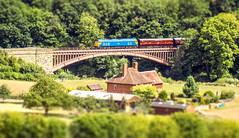 Vic Bridge Tilt Shift (Jason_Hood) Tags: class50 severnvalleyrailway