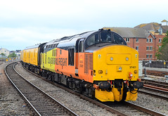 37421. (curly42) Tags: 37421 class37 growler englishelectric railway colas transport cardiffcentral networkrail