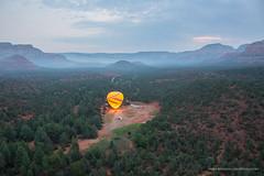 Sedona, Arizona (Mark Bienvenu) Tags: redrocks sunrise arizona sedona redrockballoonadventures fog hotairballoons
