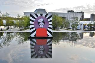 Lest We Remember, Reflections of Hope-Aida Muluneh, Aga Khan Park, Toronto, ON