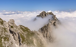 *Julian Alps @ above the clouds*