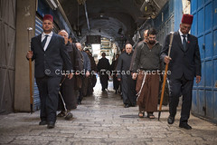 NA_140411_8454 (Custody of the Holy Land - Photo Service (CPS)) Tags: holyland terrasanta terresainte franciscan franciscans friars friarsminor kawas nadim procession statuquo statusquo