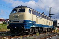 P1610843 (Lumixfan68) Tags: eisenbahn loks baureihe 218 dieselloks deutsche bahn db regio conny westfrankenbahn