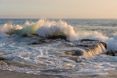 Heart of the Ocean (SCSQ4) Tags: thousandstepsbeach lagunabeach california beach sea ocean waves heartofthesea