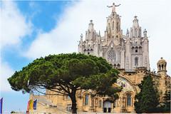 Mount Tibidabo and the Temple of the Sacred Heart in Barcelona (vzotov.doc) Tags: barcelona mount tibidabo temple sacred heart fujifilm xpro1 xf1855mmf284 r lm ois vladimir zotov