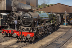 KWVR_2018_06_24_130 (Phil_the_photter) Tags: steam steamengine steamloco steamrailway steamgala keighley kwvr oakworth 34092 cityofwells 1054 coaltank ivatt2 ivatttank 41241 royalscot 46100 bigjim s160 5280 standard5 75078 black5 blackfive 45212