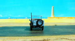 1:76 Scale Diecast Model Wills Jeep US Navy Seabees By Oxford Diecast Limited Swansea Wales United Kingdom 2017 : Diorama The Beach - 6 Of 13 (Kelvin64) Tags: 176 scale diecast model wills jeep us navy seabees by oxford limited swansea wales united kingdom 2017 diorama the beach