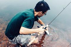 IMG_2438 (photogonia) Tags: ningyu flyfishing fly fishing lurefishing lure pesca fish tip catch carp yellowcheek xiangxi hunan huaihua cina china bait baitfishing 鳡魚