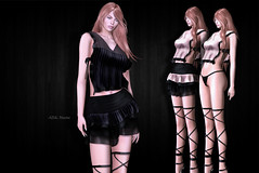 (IMAGE) -AZUL- Maxine (mami_jewell) Tags: azul maxine lace sheer skirt mesh sl secondlife virtual game avatar fashion new release casual