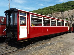 Ffestiniog Railway carriage 120 completed. (Martin Pritchard) Tags: ffestiniog railway porthmadog narrow gauge