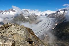 Aletschgletscher (Marcel Cavelti) Tags: mk34881bearb glacier glacial aletschgletscher gletscher eis swiss mountains alps eggishorn fiesch worldheritage switzerland wallis