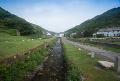 The quiet River Valency yet dangerous in times of floods. (Geordie_Snapper) Tags: boscastlevillage canon5d4 canon70200mmf4islusm canon2470mm cornwall holidayboscastle june rivervalency summer sunny