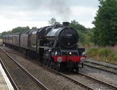 Leander (feroequineologist) Tags: 45690 leander lms fellsman railway train steam hellifield wcrc mainlinesteam