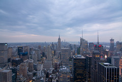 Top of the Rock (askhb55) Tags: wide 11 11mm tokina crop d7100 nikon nyc ny new york city newyorkcity newyork totr top rock hm esb empirestatebuilding empirestate empire state building manhatten skyline beautiful midtown day metlife skyscrapers skyscraper