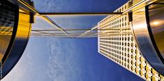Contre-Plongée (L'Abominable Homme de Rires) Tags: ladéfense paris architecture skyscraper gratteciel building immeuble iledefrance canon5d 5dmkiii sigma 24105mmf4 dxo photolab lightroom city urban