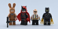 Dc minifigs #11 : Updates🔨 (Alex THELEGOFAN) Tags: lego legography minifigure minifigures minifig minifigurine minifigs minifigurines movie batman super heroes dc comics march harriet batwoman the penguin talon custom