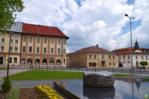 Town centre of Brezno