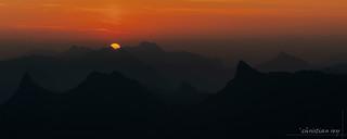 Moléson: lever de soleil (Switzerland)