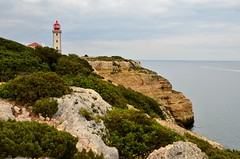 Hiking the Precurso de los Sete Vales Suspensos (tonyfernandezz) Tags: portugal cliff coast lighthouse algarve