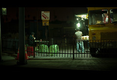 Food Truck, Night (CineScopeImages) Tags: canon 5d classic digital cinematic cinema edwardhopper american realism street streetphotography night nightphotography