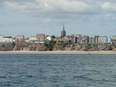 Back to Tenby (bryanilona) Tags: tenby pembrokeshire wales cruise beach sea spire hotels