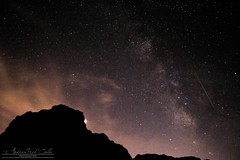 Mars, Milky way and a Shooting Star (A. Fred) Tags: shooting star sky night stella cadente notte dream sogno mare