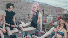 (mimiau_m) Tags: bjd asian doll summer beach sea dollshe hound recast pinkhair