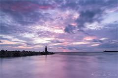 Velvet touch! (karindebruin) Tags: brouwersdam nederland noordzee northsea ouddorp thenetherlands zonsondergang zuidholland clouds water wolken