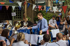 Friezland Brass Band at the Yanks weekend - Uppermill (Craig Hannah) Tags: friezlandbrassband uppermill saddleworth yanksweekend 2018 august village music brassband brass westriding yorkshire oldham greatermanchester england uk craighannah pennine northern traditional