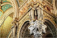 L'Eglise haute de la Basilique Notre-Dame de Fourvière, Lyon, Auvergne-Rhône-Alpes, France (claude lina) Tags: claudelina france auvergnerhônealpes lyon architecture église church basilique basiliquenotredamedefourvière