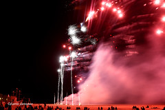 Firework @ Ostend , Belgium 2018 (Fabke.be) Tags: firework fireworks vuurwerk feudartifice feu fire colorful colors dark night nightshooting nightshot canon7dmkii canon7dmk2 canon175528 canon1755mm28 beach strans plage northsea ostend oostende westvlaanderen