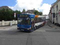 34409, Park Road, Torquay, 15/08/18 (aecregent) Tags: parkroad torquay 150818 stagecoachsouthwest dennisdart slf plaxton 34409 gx53mvy 34