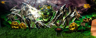 Graffiti 2018 in Wiesbaden