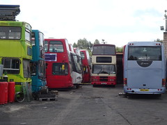 Former TM Travel R32LHK Carlton (Guy Arab UF) Tags: tm travel 1130 r32lhk volvo olympian oly50 alexander geoff ripley bus sales carlton barnsley 98d20390 dublin rv390 buses