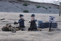 Normandy 1944 (molegode_official) Tags: lego ww2 normandy utah beach france d day operation overlord carentan mines minen wehrmacht