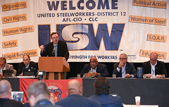 D12-0031 (United Steelworkers) Tags: typical organizing cvil rights human safety rapid response political action woman steel soar education