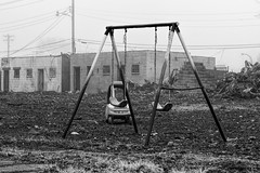 Sounds of a playground fading (Mike Matney Photography) Tags: 2017 canon eost5 january midwest missouri northstlouis stl stlouis city decay urban unitedstates us playground